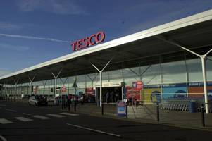 manhunt launched after woman mugged in tesco car park