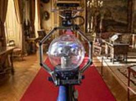 a five foot tall robot tour guide called betty will lead visitors around blenheim palace