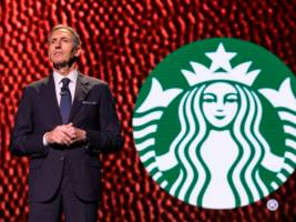 starbucks baristas are begging 'uncle howard' not to run for president after the former ceo announced he is 'seriously considering' campaigning as an independent candidate (sbux)