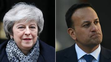 brexit vote: may and varadkar to hold talks