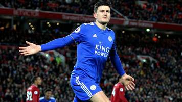 liverpool miss chance to go seven points clear as maguire earns point for leicester