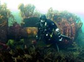 divers are convinced they've found wreck of german first world war destroyer off scottish coast
