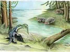 iguana-sized cousin of the dinosaurs is discovered in antarctica