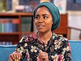 great british bake off star nadiya opens up about her anxiety battle