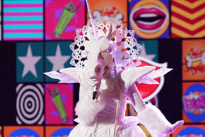 fox's 'the masked singer' reveals fifth celebrity masked singer: and the unicorn is… (video)