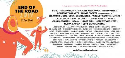 michael kiwanuka, beirut, spiritualized headline end of the road 2019