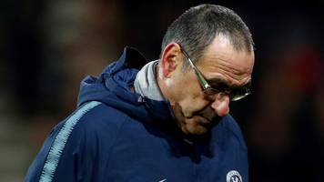 'maybe i can't motivate players' - chelsea boss sarri takes blame for 4-0 loss at bournemouth
