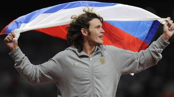 doping bans for 12 russian athletes including 2012 olympic champion ivan ukhov