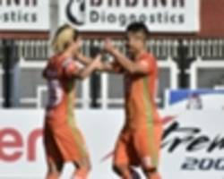 i-league 2018-19: katsumi yusa's brace earn a much needed win for neroca