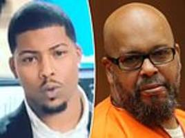 imprisoned suge knight addresses son's claims that pac is still alive exclusively with dailymailtv
