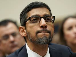 employee confidence in google ceo sundar pichai and his leadership team is reportedly at a six-year low (googl, goog)