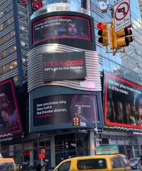 moviepass shows off new giant billboards in times square after burning through hundreds of millions of dollars