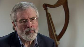gerry adams: bill clinton role 'paved way for ira ceasefire'