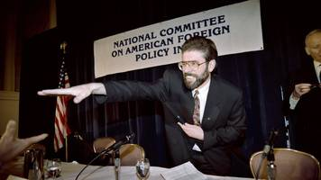 gerry adams: new york in 1994 visit 'pivotal to peace'