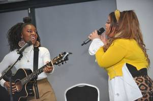moment x factor's scarlett lee and shan ako perform and chat at intimate hull gig