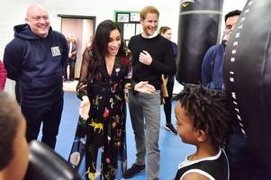 eight times it got very bristol during the royal visit of harry and meghan
