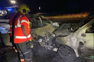 horrifying pictures show devastating aftermath of early morning a141 crash