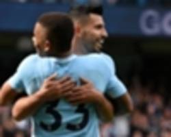 'aguero four years ahead of where jesus wants to be' - argentinian still first name on the teamsheet, says mills