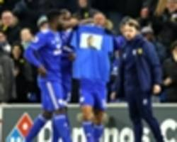 sala would've been proud of cardiff win, says warnock