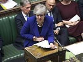 peter oborne: pm's tory truce will shatter if her mps don't wake up to the gravity of this crisis