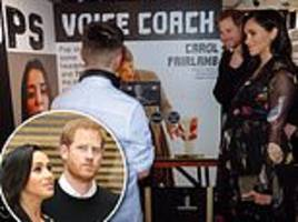 teenager stuns harry and meghan as he drops f-bomb in chat with couple during visit to bristol