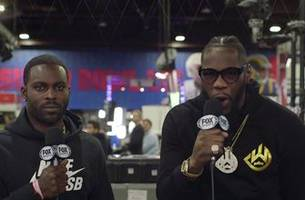 deontay wilder gives update on wilder vs fury ii, his advice to adrien broner
