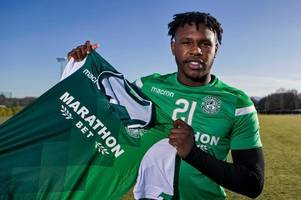 darnell johnson reveals his godfather emile heskey sold him on move to hibs