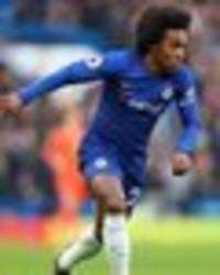 chelsea star willian has future thrown in doubt after contract troubles