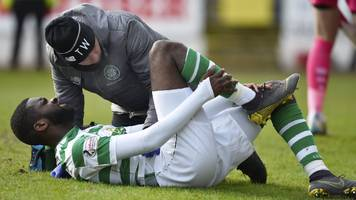 edouard, forrest, christie & lustig add to celtic's injury worries