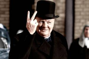 never has so much hate been shown by so few as during churchill 'mass murderer' row