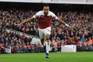 pierre-emerick aubameyang reveals the arsenal legend that has played a huge part in his game