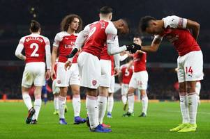 unai emery on why alexandre lacazette and pierre-emerick aubameyang play against top six sides
