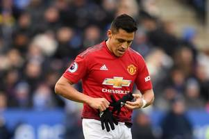 'world class at arsenal, invisible for united' - alexis sanchez hammered over leicester outing