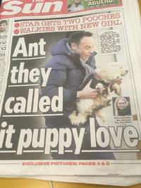 maltipoo proves ant mcpartlin is not a shit