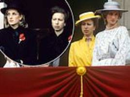 new documentary reveals diana's brittle relationship with princess anne
