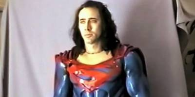 hoboman in netflix's 'velvet buzzsaw' represents the director's version of superman after hollywood destroyed his 'superman lives' movie starring nic cage