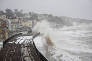 rail minister cancels his visit to dawlish just hours before major announcement