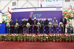 the 23rd international engineering and technology fair (ietf) flagship event of confederation of indian industry kicks off  till 5th february 2019