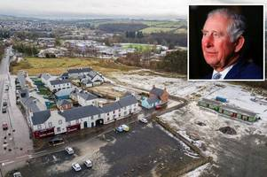 prince charles' east ayrshire eco village stalls with only 31 homes built in eight years