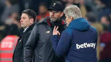 klopp is used to winning with offside goals - west ham boss pellegrini