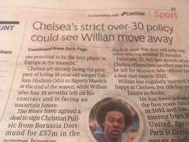 chelsea balls: willian off; hazard decides; luiz on a free; and a transfer ban