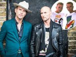 bros stars matt and luke goss are 'set to sign record deal' after hit documentary
