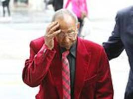 sex-starved widower, 89, is sent to jail for 18-months after he blasted escort with a shotgun