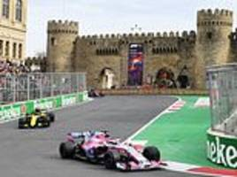 Azerbaijan Grand Prix to stay on race calendar until 2023 after extending contract with Formula One