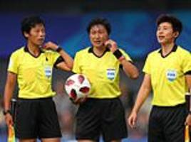 women's world cup referees undergo training with var