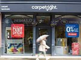 Carpetright sales remain sluggish amid shopper uncertainty; finance chief of 10 years steps down