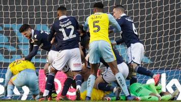 millwall and rotherham charged by fa over clash in goalless draw