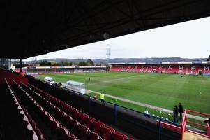 new date revealed for cheltenham town v cambridge united league two meeting after postponement