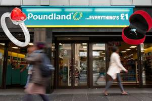 Poundland 'sells 20,000 engagement rings in a week' as lovebirds snap them up