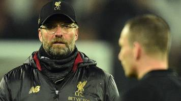 'the referee didn't want to open gap any more' - klopp believes referee was affected by offside error